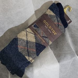 NWT Mens GoldToe lodge collection socks